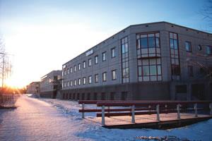 Urkrafts lokaler på Campusområdet. Fotograf Olof Palm.