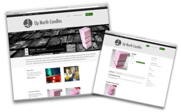 Wordpresspaket Webbshop