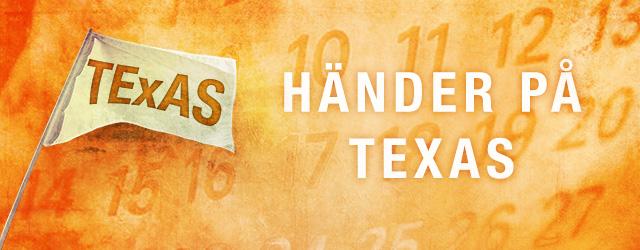 Händer på mötesplats Texas